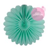 Paper fan - 68cm - Frosted mint