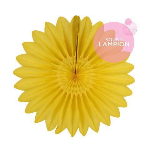 Paper fan - 45cm - Hello sunshine