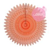 Honeycomb fan - 53cm -  Peach smoothie