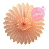 Paper fan - 45cm - Turquoise dream