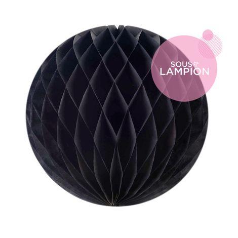 Honeycomb ball - 30cm - Black is back