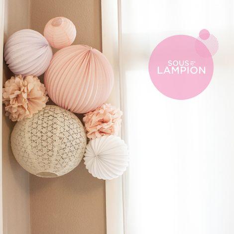 Décoration murale rose pour chambre de bébé ou de petite fille