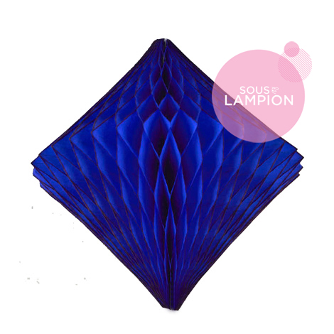 Honeycomb diamond - 30cm - Super blue ocean