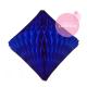Diamant alvéolé - 30cm - Bleu océan