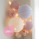 Paper lanterns kit - LOUISE