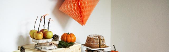 Lampions et décorations en papier pour Halloween