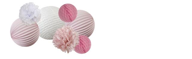 Une décoration rose poudré