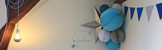 Dans la chambre de Justin