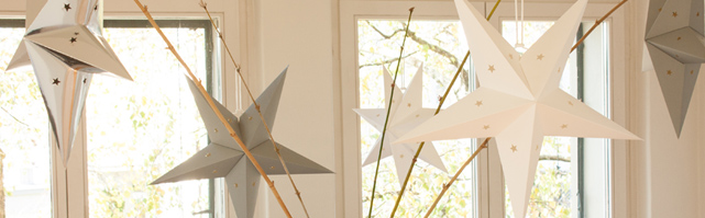 Star lanterns Holiday decor