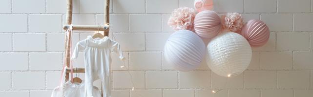 Nursery paper lanterns