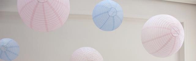 Paper lantern sky