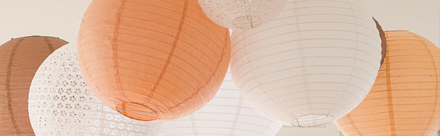 Baby Paper Lanterns - 15cm