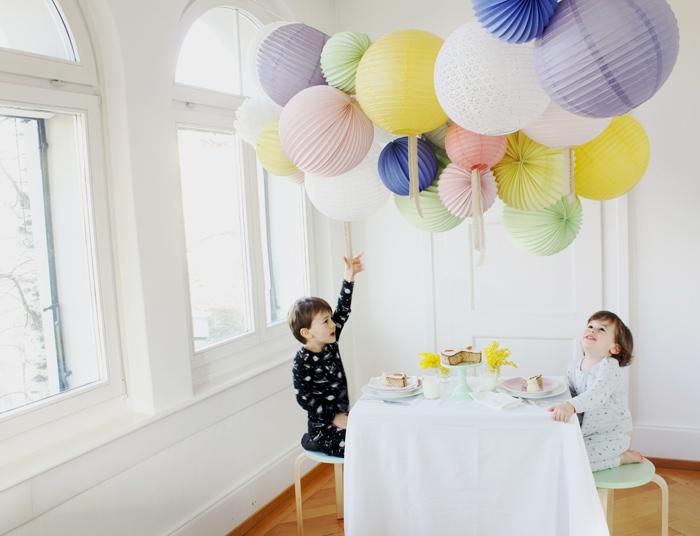 Lampions et lanternes en papier pour enfants