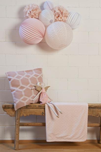 Kit de lampions rose pour chambre de petite fille sous le lampion