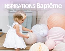 déco baptême