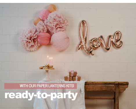 paper lanterns sets to decorate birthday parties