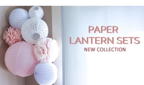 Designer Paper Lanterns For Weddings And Nursery Decor
