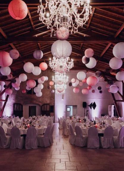 lanternes déco pour un mariage