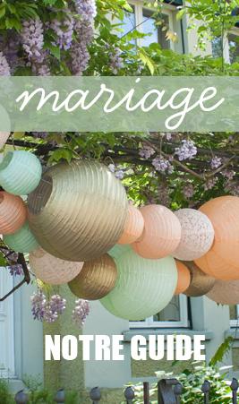 lanternes et décorations de mariage