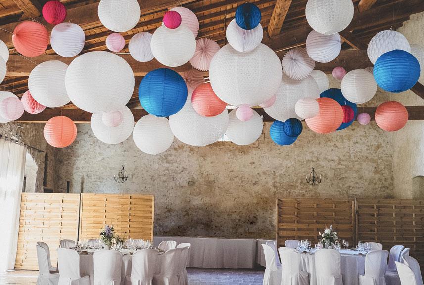 Lanterne mariage pour déco plafond