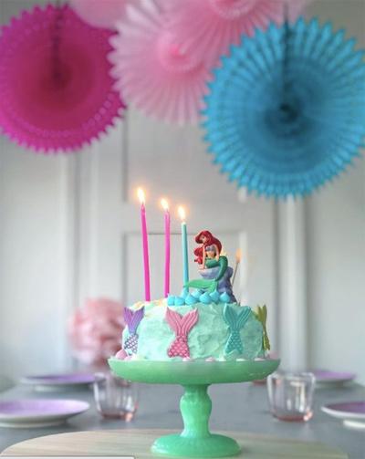 deco anniversaire sirène