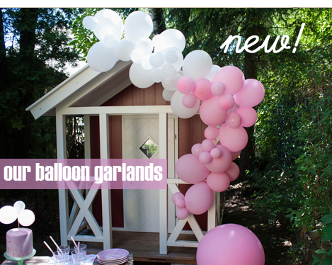 easy to create ballon garland