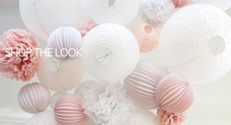 mariage rose pastel et blanc deco salle