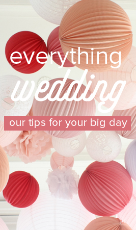 decorating a wedding with paper lanterns