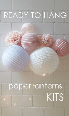 shop our paper lanterns kits