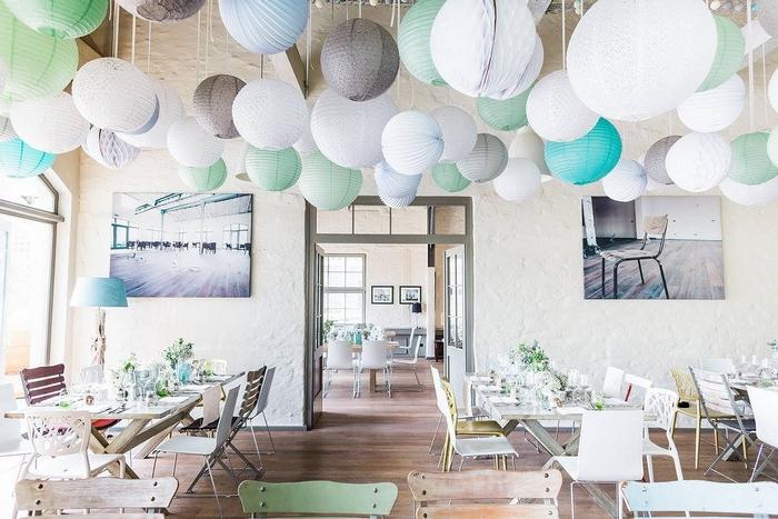 Lanterne mariage: la bonne idée pour décorer un plafond