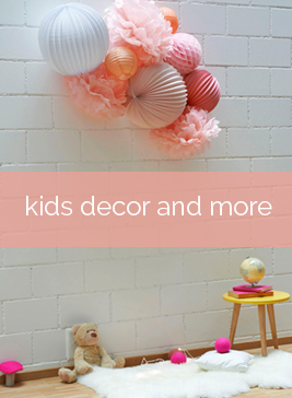 decorating your kid's room with cute paper lanterns
