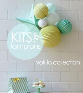 kits de lampions décor