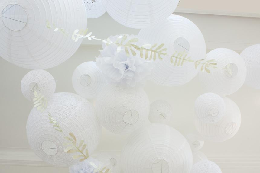 lanternes et lampions pour décorer un mariage
