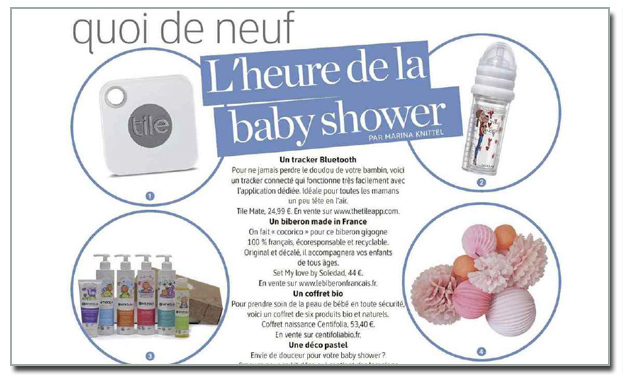 midi article baby shower