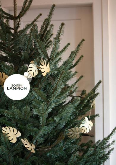 décorations papier pour sapin de Noël - Sous Le Lampion