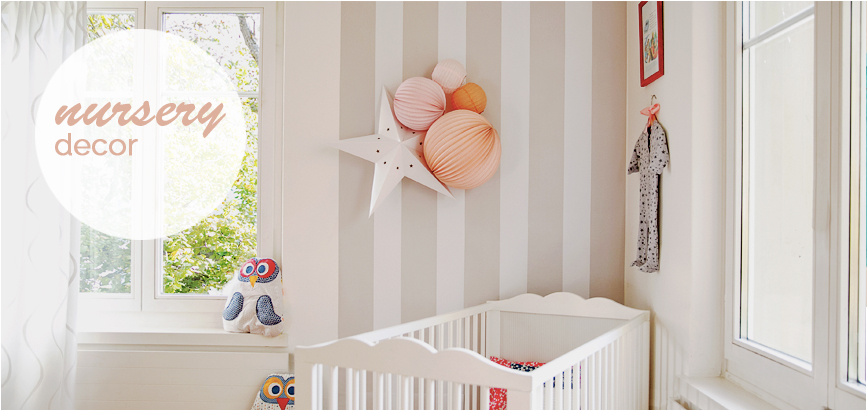 Nursery With Paper Lanterns
