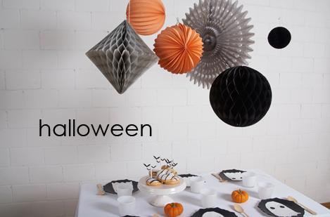 Un lot de décorations spéciales Halloween